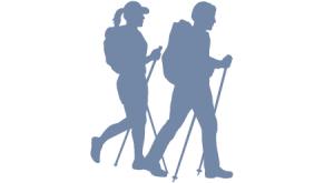 Icon Bergwandern