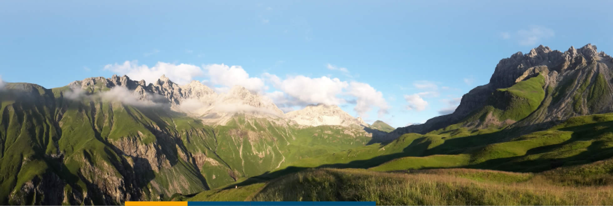 Algäuer Alpen im Sommer